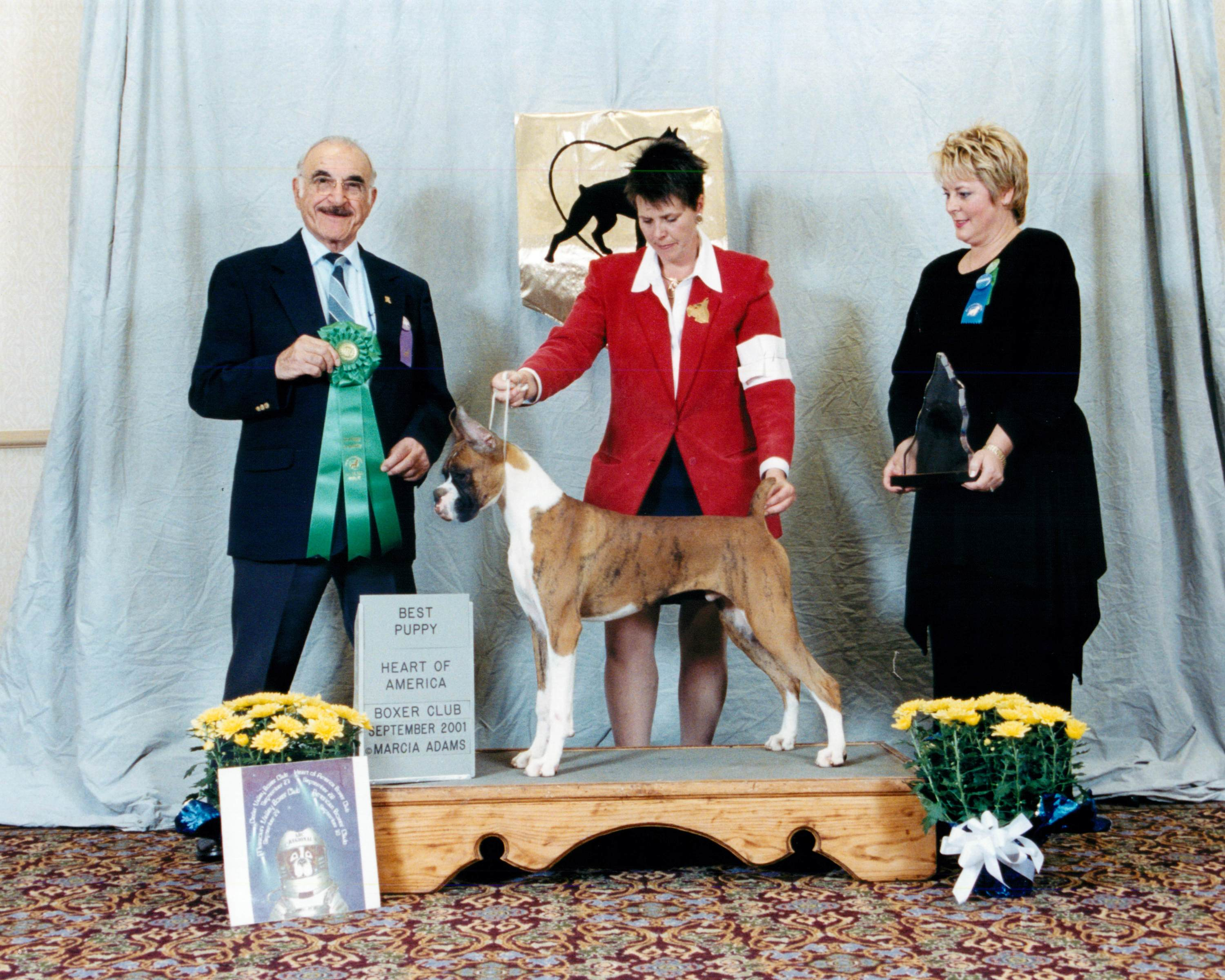 Best Puppy @ 2001 Specialty Show #2