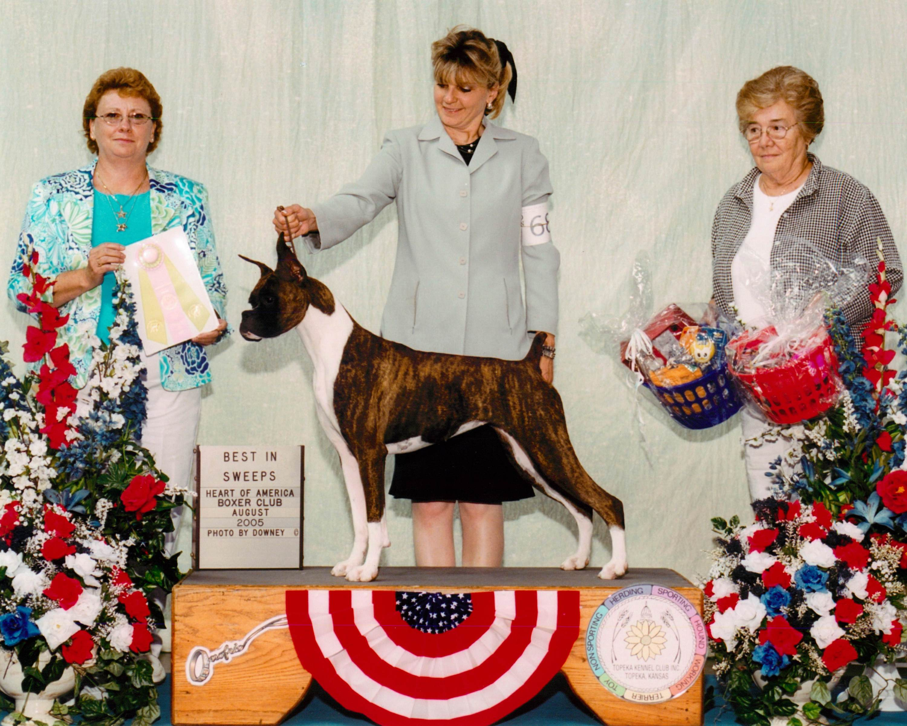 Grand Sweepstakes & Best Junior @ 2005 Specialty Show #2