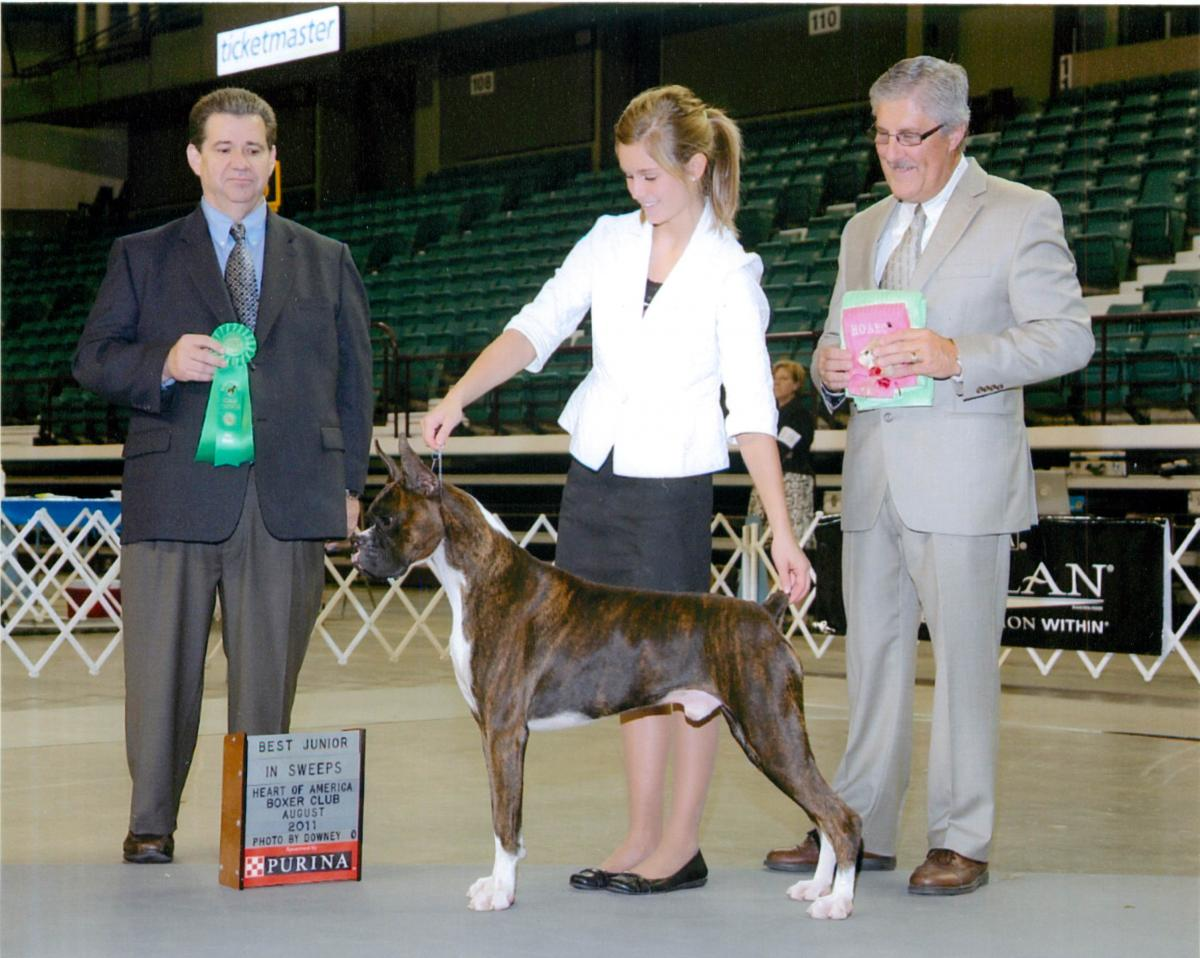 Best Junior @ 2011 Specialty Show #1